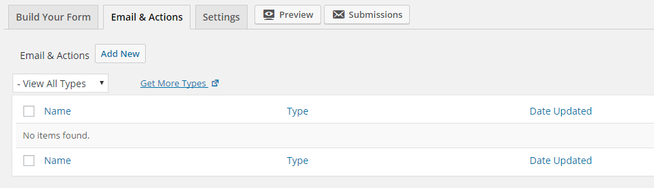 6-Email and Action Tab