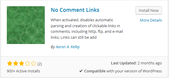 How to Remove Hyperlinks from WordPress Comments