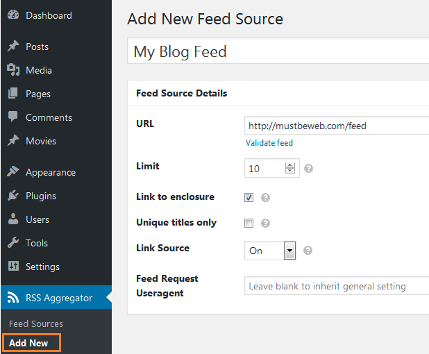 top 3 plugins for adding rss feed in wordpress mustbeweb