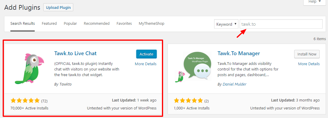 Live Chat Feature in WordPress