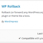 How to Roll Back WordPress Plugin to Previous Version