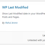 How to Display Last Modified Date in Your Post